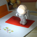 Mini Reading Lamp USB Tube For Computer Laptop PC Notebook Pure White Portable Spaceman Astronaut LED