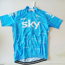 2017 SGCIKER Pro team sky cycling jerseys summer Bicycle maillot breathable MTB Short sleeve quick dry bike cloth 3D GEL(China (Mainland))
