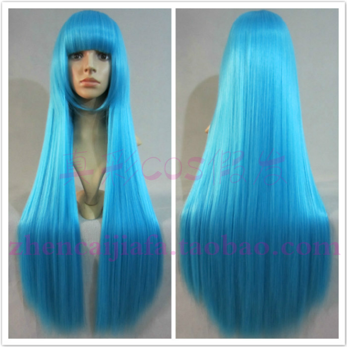 80cm long straight houndsberry mounted princess lily heat resistant fiber cosplay wig - XUANCAI PARTY WIGS store