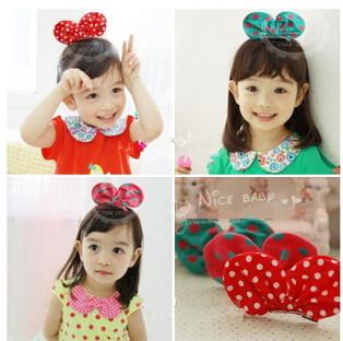 Freeshipping!New Girls/Kids/Infant/Baby Mickey Hairpin Hairclamp/Hair ornament/Hair Accessories ,ZXM048 - Vifa (mamufacturer store baby&bride headwear Center)