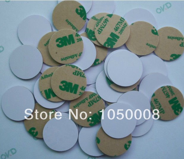 10 pcs Lot NTAG203 NDEF type2 NFC tags RFID adhesive label sticker Nexus Balckberry Lumia size