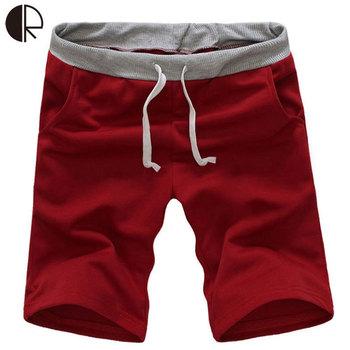 Hot Sale Fashion Comfortable Shorts Men Gym Sport Jogging Beach Trousers Short Casual Solid Trousers Men Clothes MP164