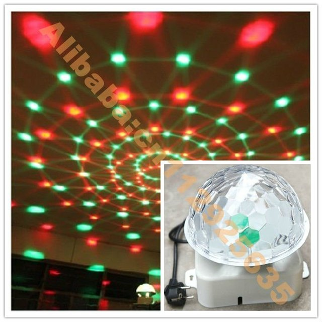 Christmas Hot sale LED Club Light RGB flashing lighting 220V-240V 25W