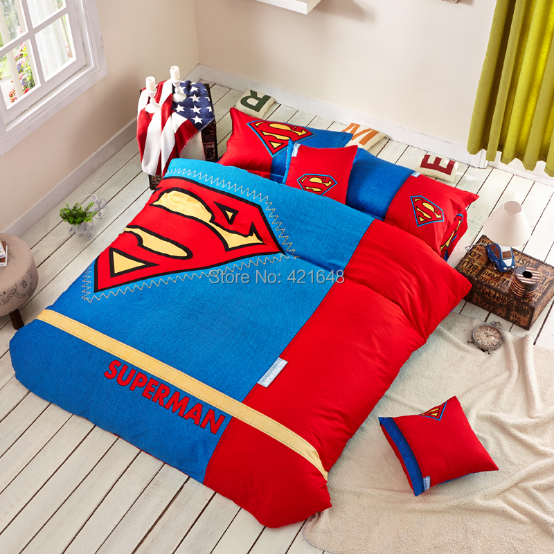 Batman bedding set for kids twin full queen king size in bedding sets