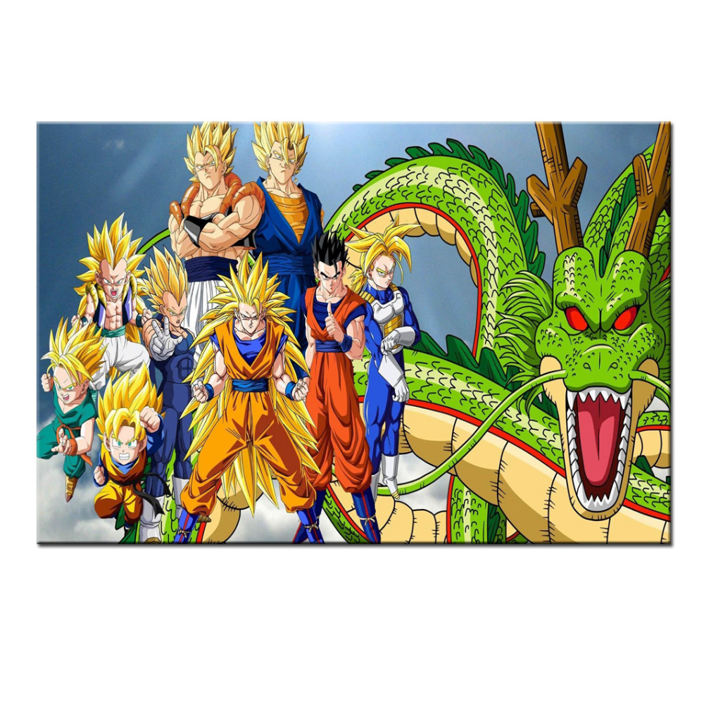 Dragonball movie poster reviews online shopping for Dragon ball z living room