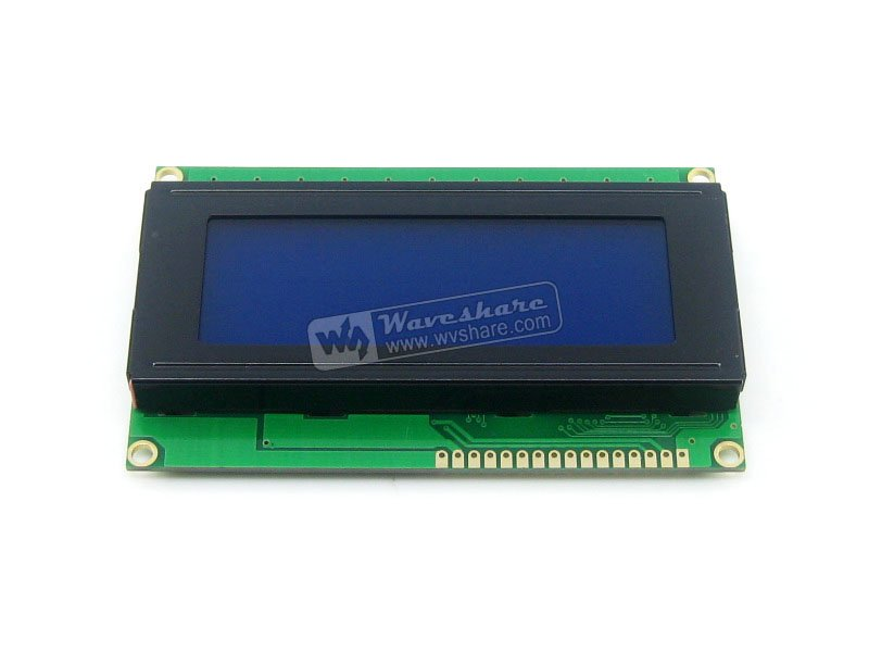 204 20X4 20*4 2004 Character LCD Module LCM Display TN/STN Blue Backlight White Character 5V Logic Circuit HD44780 Compatible(China (Mainland))