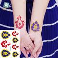 New 2016 Colorful Flower tree tattoo design temporary tribal sexy body tattoo sticker shoulder arm leg nice tattoo bird parrot