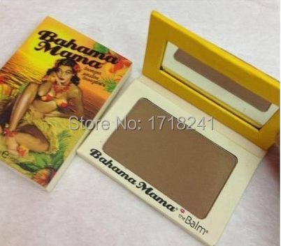 New styleThe balm Bahama Mama Bronzer Powder Blush Blusher Makeup palette,free shipping(China (Mainland))