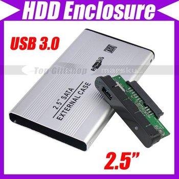 "2.5"" USB 3.0 HDD Case Hard Drive SATA External Enclosure Box #3072"