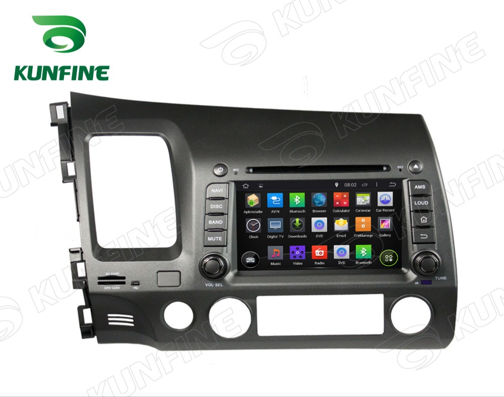 """Android 4.2 7""""HD Touch screen Car dvd gps navigation For Honda Civic 2006-2011 With GPS 3G Wifi 8GB Free Map KF-7035"""