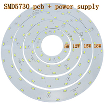 Free Shipping Diameter 5W 12W 15W 18W  Magnetic LED Circular Board Lights/Magnetic Led Ceiling Ring Lamps