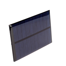 2x DIY 5V 1.2W 240mA Solar Panel Module Solar System Cells Charger#69410(China (Mainland))