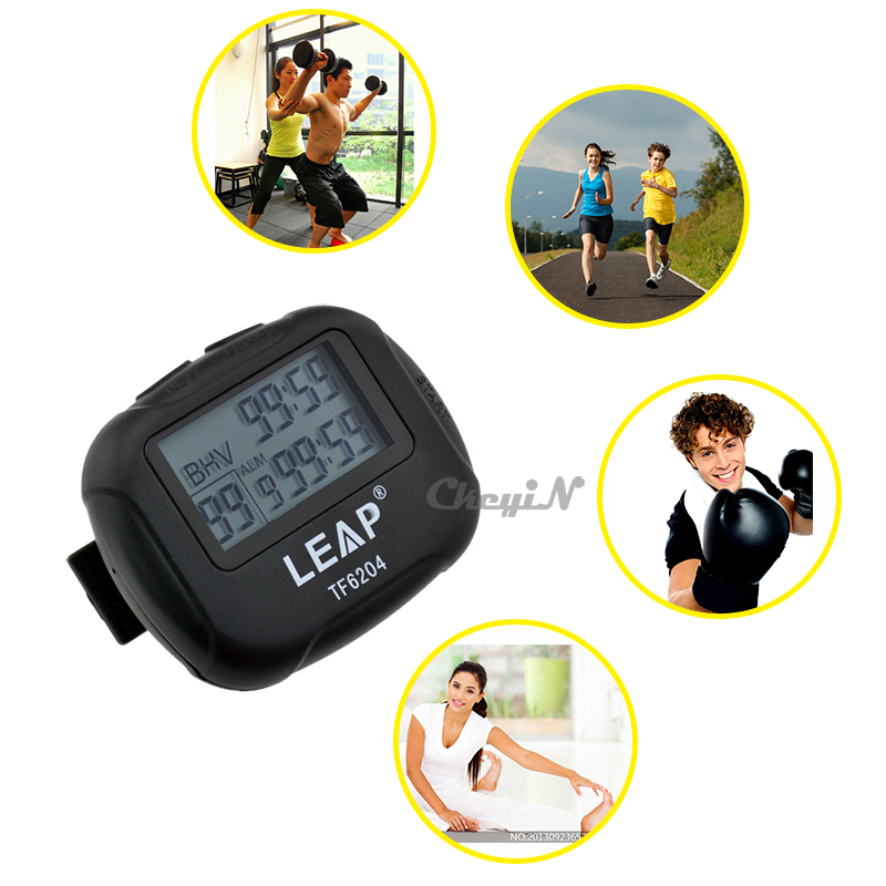 Free Shipping Stopwatch Training Electronics Interval Timer Sport Yoga Boxing HIIT Cross-fit Training Interval Timer JS001H*92(China (Mainland))