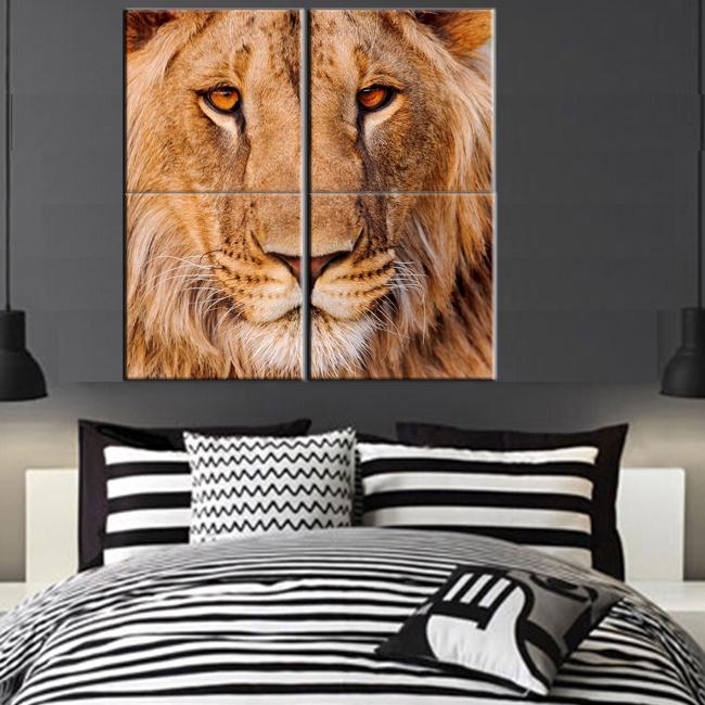Online kopen wholesale leeuwenkop pictures uit china leeuwenkop pictures groothandel - Modulaire muur ...