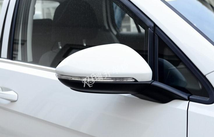 Car Covers ABS Chrome Side Mirrors Rearview Cover Trim fit VW Volkswagen Golf 7 GTI Mk7 2014 - Kiki's Auto Part store
