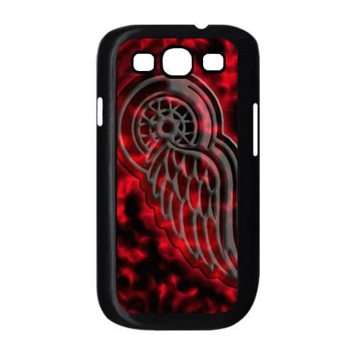 Cooling Case For Samsung Galaxy S3 : Nhl ice hockey detroit red wings logo cool unique samsung