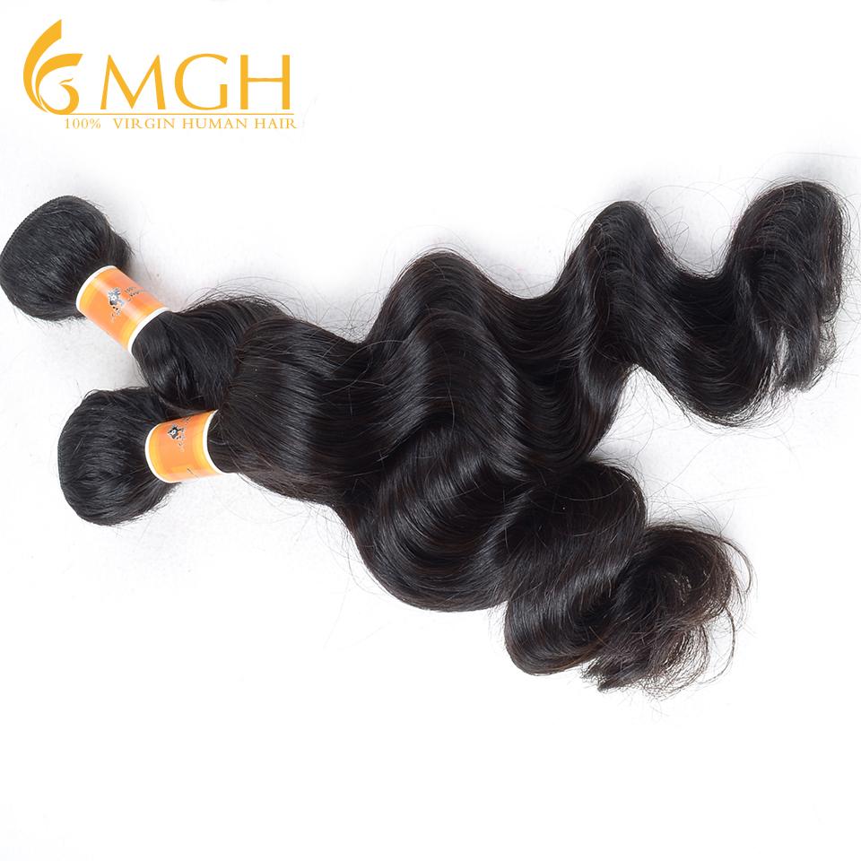 """Retail kabeilu hair 5A peruvian virgin hair loose wave 12""""---26"""" natural black wholesale price free shipping(China (Mainland))"""