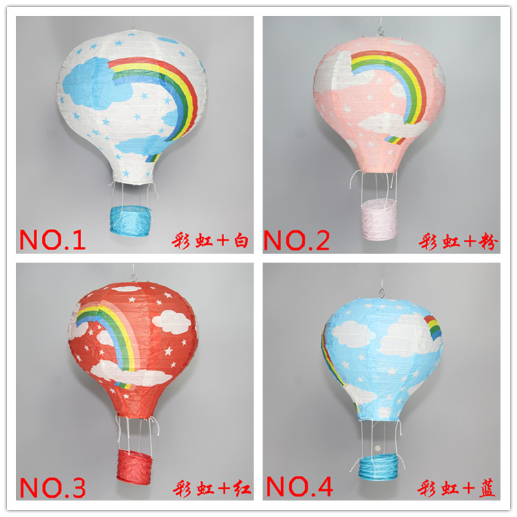 30cm multicolor Paper Chinese wishing lantern hot air balloon Fire Sky lantern for Birthday Wedding Party mix color(China (Mainland))