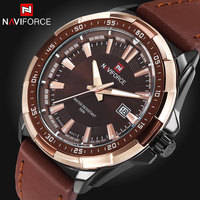 2016 Top Brand Men Fashion Sports Watches Men s Quartz Hour Date Clock Man Leather Strap