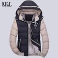 New 2016 Winter Warm Men s Jacket Breathable Thick Coat Windproof Veste Men Cotton Padded Outwear