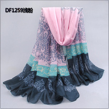 Pashmina Scarf Women 2015 New arrive Spain Voile Velvet Chiffon Infinity Scarf Winter echarpes Scarves Silk Shawls and Scarves(China (Mainland))