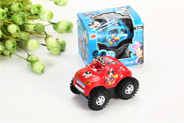 Children cartoon electric vehicle car toys/ Kids battery traffic car diecast toys,1pc/ pack for christmas gift fast shipping(China (Mainland))