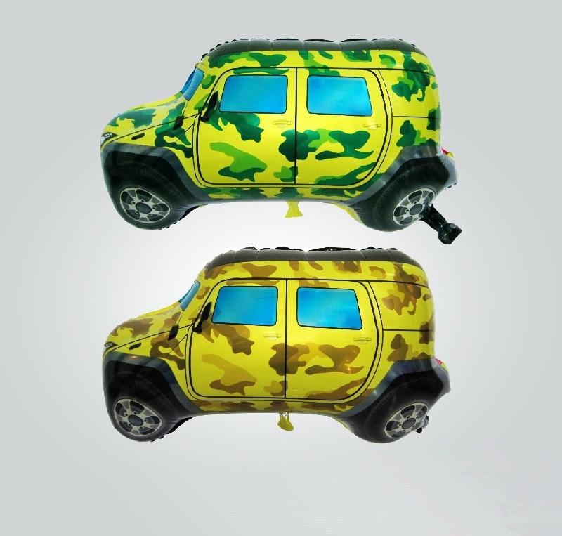 Jeep car aluminum balloons party decoration cartoon children's toys balloon(China (Mainland))