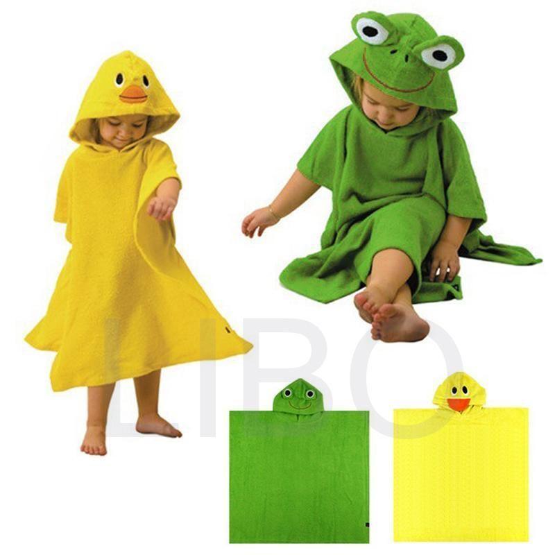 2015 Pillows Seat Belt Pals Terry Bathrobe - Hoodie/hoody Beach Costume Bath Towel Cape Baby Robe Kids Blankets Cartoon Hooded Kaorui E-commerce store