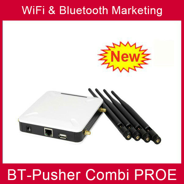 BT-Pusher wifi bluetooth mobiles proximity marketing device with car charger using in Advertising Screens(China (Mainland))