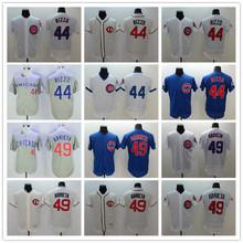 44 Anthony Rizzo 49 Jake Arrieta Jerseys white blue gray green yellow - cheap jerseys china store