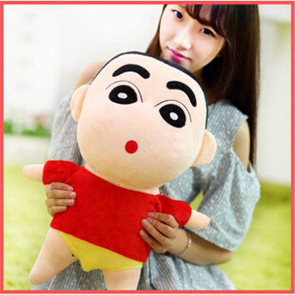 Uniquely 55cm Various Crayon Shin-chan Cartoon Toy Recording Doll Pure Cotton Plush Toy Stuffed Birthday Wedding Kids Gift TY109(China (Mainland))