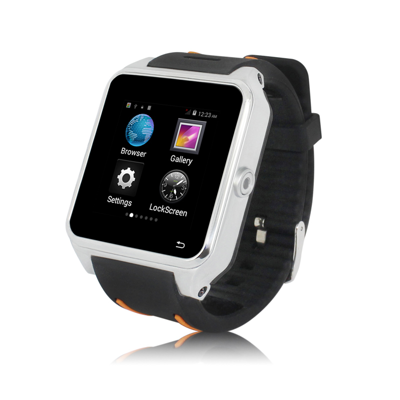 S82 1.54 Inch 3G Android 4.4 O.S 1.2G Dual Core Phone Watch 2.0MP real CMOS Camera 3G,WIFI, GPS,A-GPS,FM(China (Mainland))