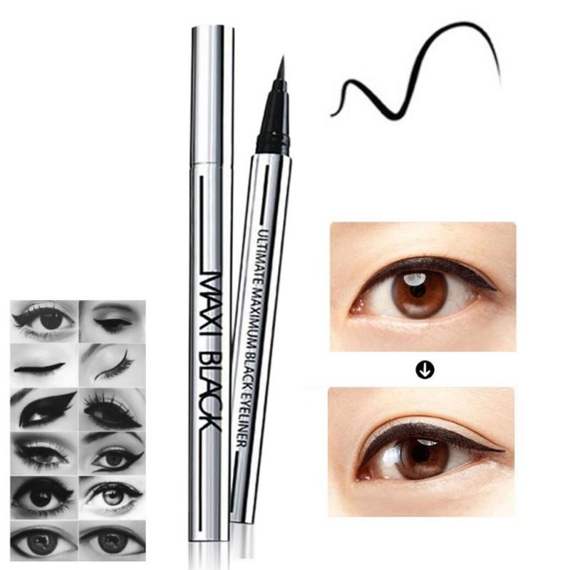 2017 Hot Beauty Black Waterproof Eyeliner Liquid Eye Liner Pen Pencil Makeup Cosmetic