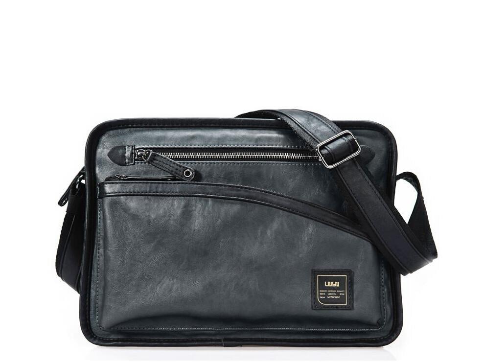 Fashioon Casual PU Leather Messenger Shoulder Bag Men Crossbody For