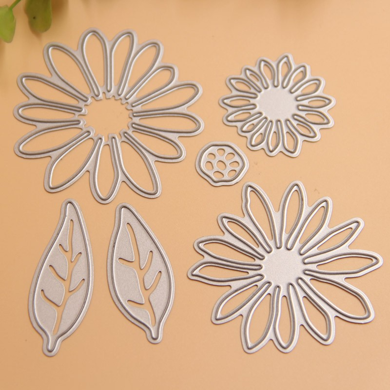 Flower Metal Cutting Dies Stencils for DIY Scrapbooking Stamp/photo album Decorative Embossing DIY Paper Cards