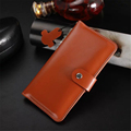 Luxury Genuine Leather Wallet Case for 4 7 Cellphone Fashion Phone Cases Card Slots with Hasp