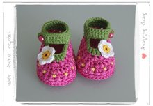 2012 Hotsale Handmade Crochet Baby Shoes,Baby's Flower Footwear,Knitted baby shoes,free shipping to all country(Hong Kong)