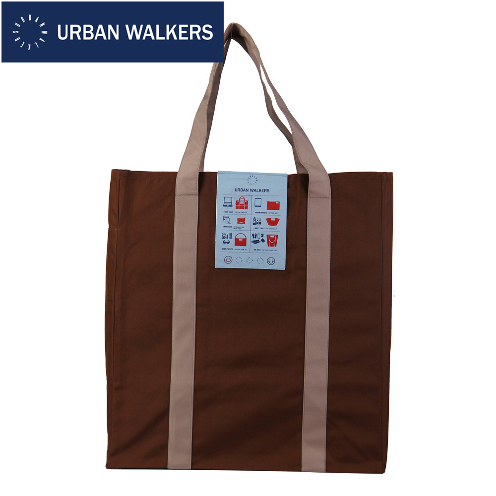 URBAN WALKERS Fashion High Street Casual Tote Brand Design Color Block France Oxford Unisex Shopping Bag Sports Bags #C561(China (Mainland))