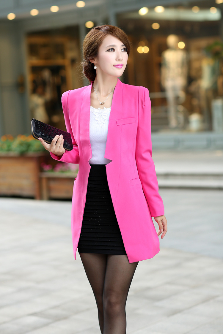 Blazer Coat Womens Womens Long Suit Coat