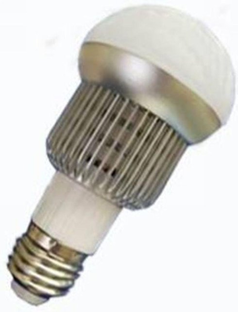 E27 base 5*1W led bulb;warm white;P/N:QP3W020