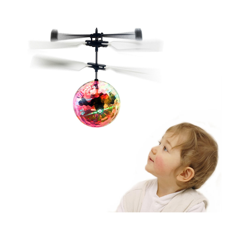 New Electronic Toys RC Flying Ball Helicopter UFO Ball With Music Altitude Induced Magic Ball Aircraft Colorful As ChristmasGift(China (Mainland))