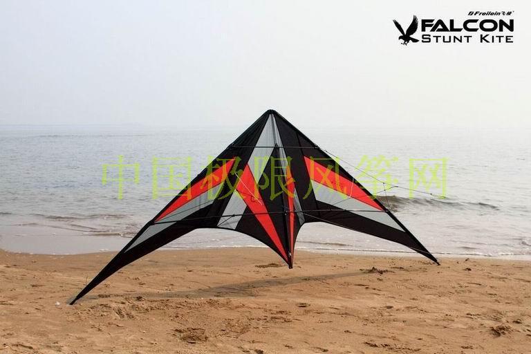 Falcon stunt ballet kite flying kitesurf sport kites surf pipa waterproof nylon fabric beach triangle traction kite skeleton(China (Mainland))