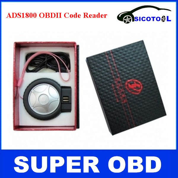 Professional ADS1800 OBD2/EOBD/JOBD Code Reader ADS1800 Diagnostic Scanner for Android and Windows System Bluetooth Version<br><br>Aliexpress