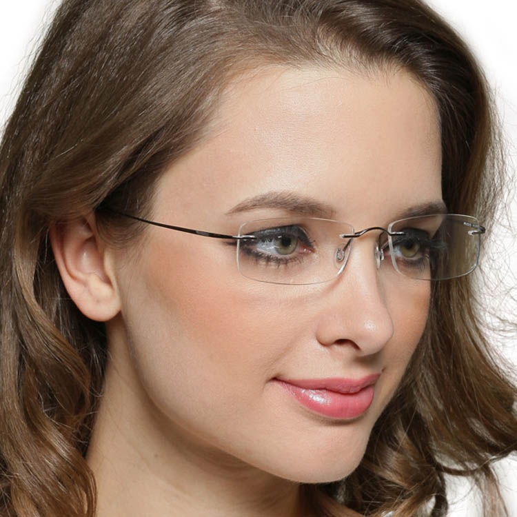 Rimless Glasses For Small Faces : titanium glasses frame - Chinese Goods Catalog ...