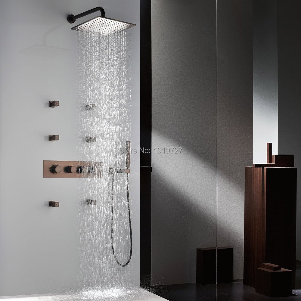 Orb Shower System Rainfall Waterfall Shower Heads Handheld Shower ...