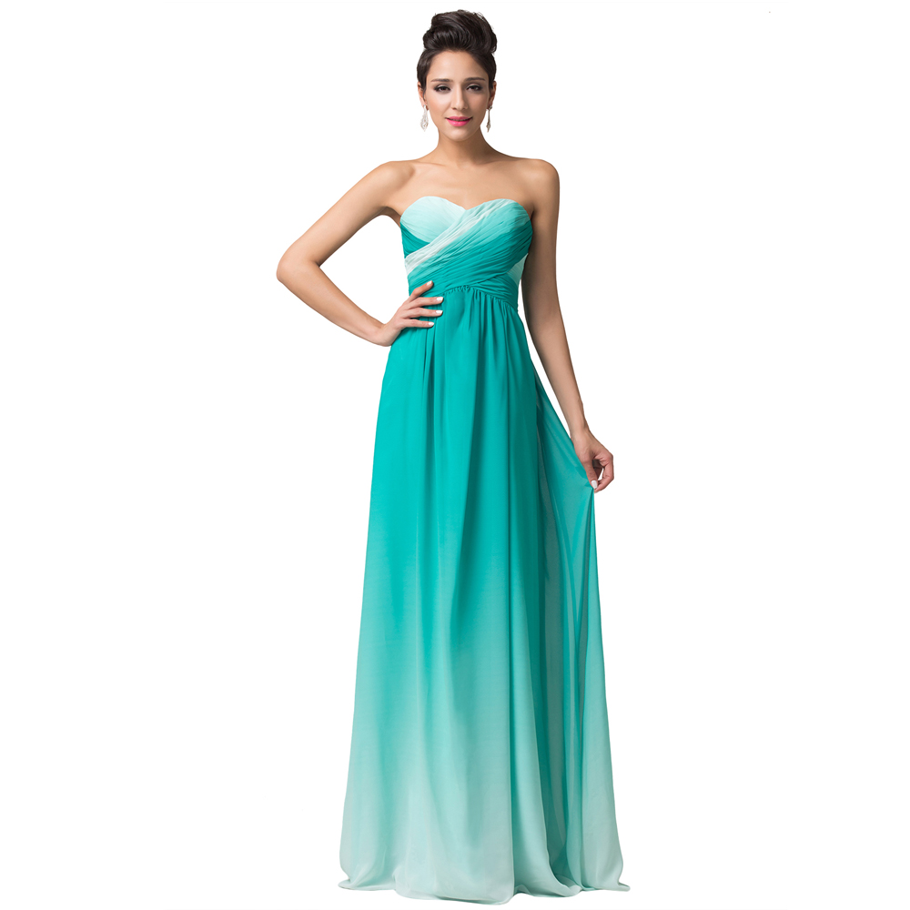 Green Light Blue Long Prom Dresses | Fashion Wallpaper