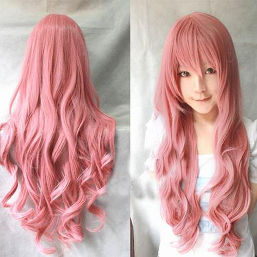 Гаджет  Women Lady Long Curly Wavy Full Hair Cosplay Party Anime Lolita Wigs Wig 80CM None Волосы и аксессуары