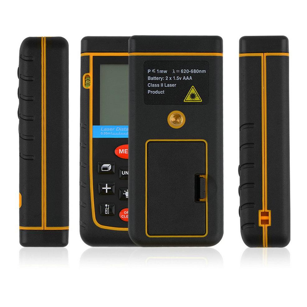 Worldwide 1pcs Professioanl RZ-A100100M/328ft/3937in Mini Digital Laser Distance Meter Range Finder Measure<br><br>Aliexpress