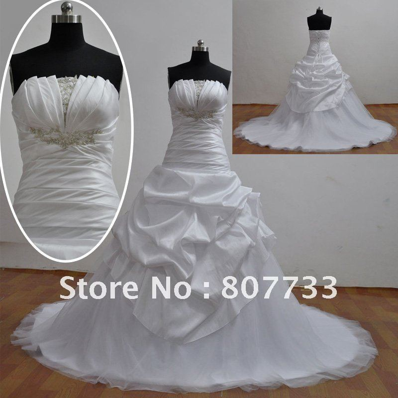 The Perfect Wedding: designer sample wedding dresses