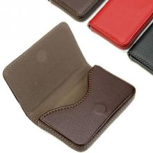 New Pocket Leather Business ID Credit Card Holder Case Wallet Best Gift(China (Mainland))